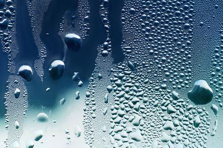 Water drops on window #2 Stock Photo - 1998129