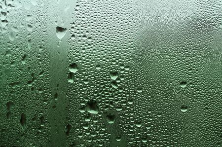 Water drops on window #4 Stock Photo