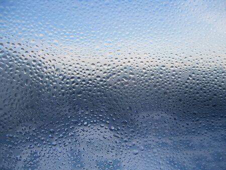 Gotas de agua en vidrio  Foto de archivo - 2119547