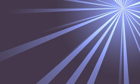 convergence: Rays of light abstract background Stock Photo