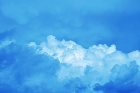 bly sky and clouds background