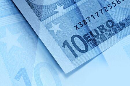 euromoney: Euro money abstract background Stock Photo