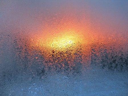 natural water drops texture photo