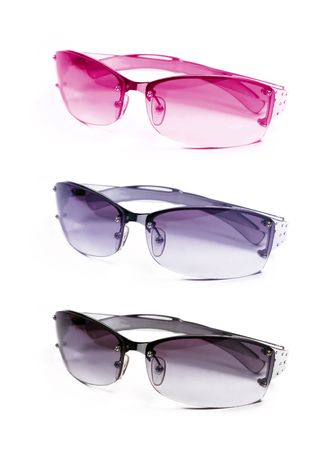 collection sunglasses isolated on white background Stock Photo - 6130852