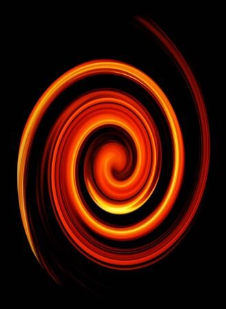 twirled: abstract twirled fire background