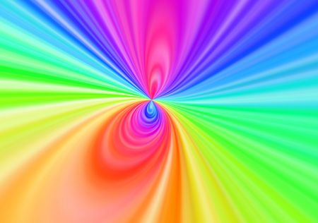 rainbow bright abstract background Stock Photo - 7069541