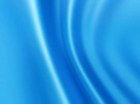 soft folds abstract blue background Stock Photo - 8288462