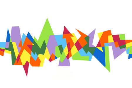 abstract geometric pattern Stock Photo - 8540441