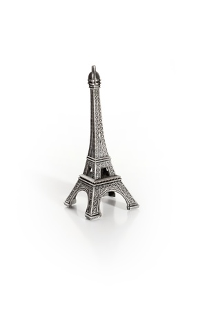 small copy of eiffel tower photo