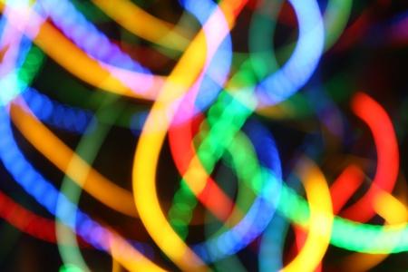blurred color lights festive background Фото со стока