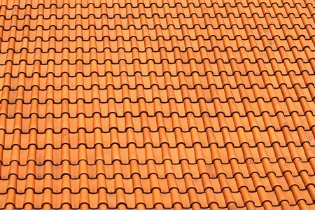 tiles roof background photo