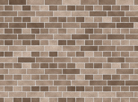 illustration of a beige brick wall background illustration