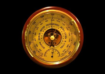 pluviometro: barómetro Foto de archivo