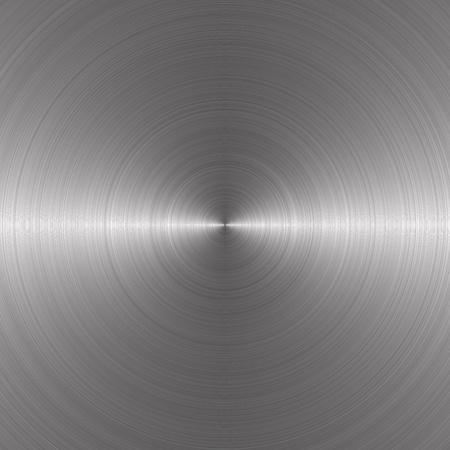 silver circular metal plate  Standard-Bild