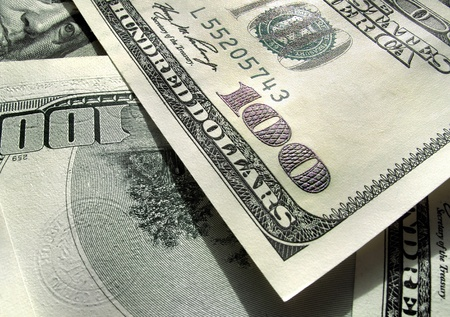 money background from dollars usa Standard-Bild