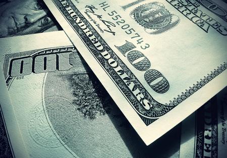 save money: money background from dollars usa Stock Photo
