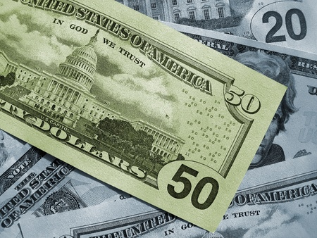 abstract money background from dollars usa Stock Photo - 13188124