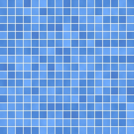 illustration of blue mosaic background illustration