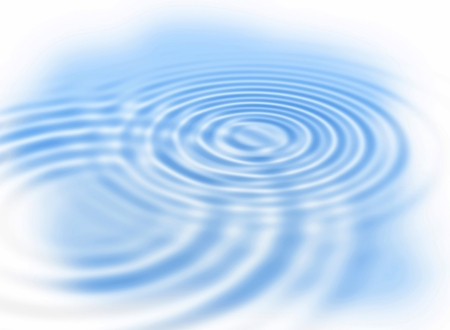 circular blue water ripple: Abstract background with water ripples