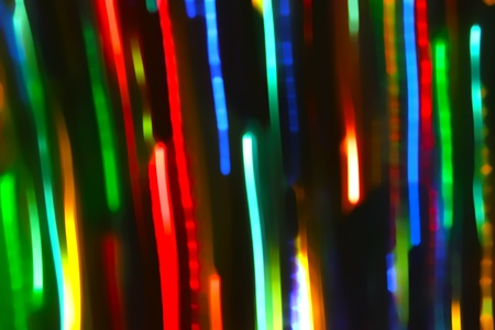 Abstract background with motion glowing lights lines photo