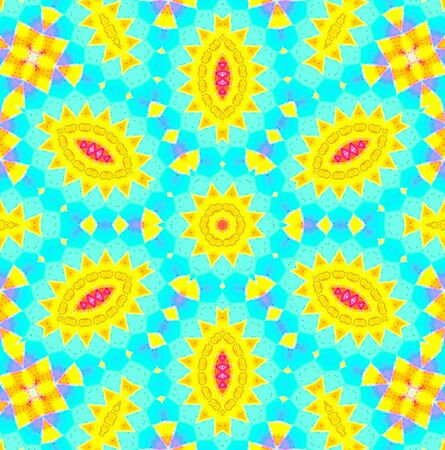 Bright background with abstract pattern Stock Photo