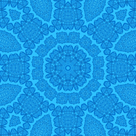 Blue background with abstract pattern photo