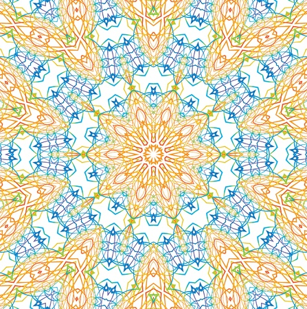 kaleidoscopic: Abstract background with shapes of lines