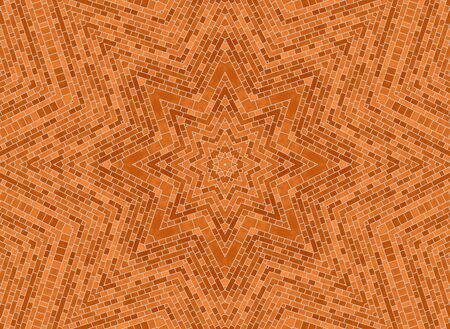 Background with abstract brick pattern photo