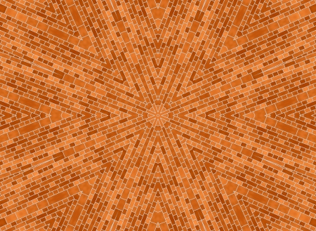 mosaics: Background with abstract brick pattern