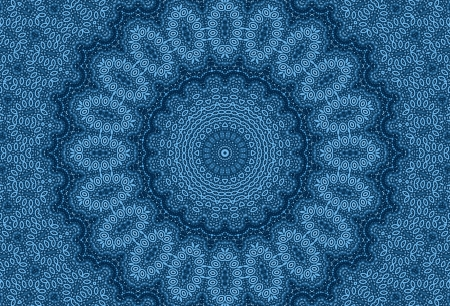 Background with blue abstract radial pattern photo
