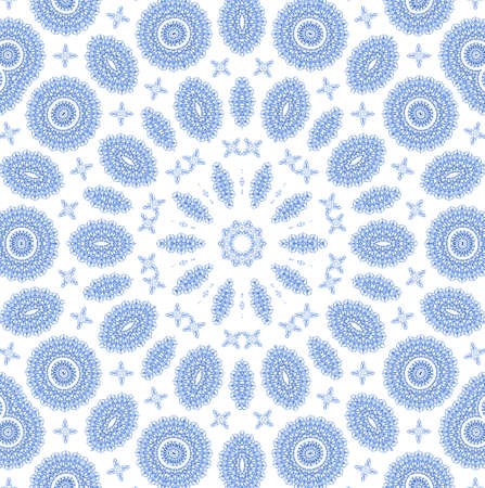 White background with abstract blue radial pattern photo
