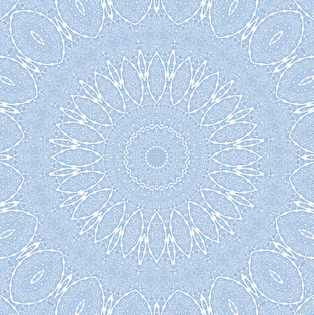 Background with abstract blue pattern on white photo