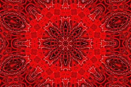 Background with abstract bright red pattern photo