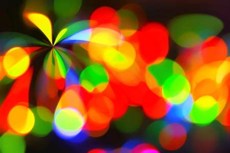 Bright abstract color spotlight pattern background  photo