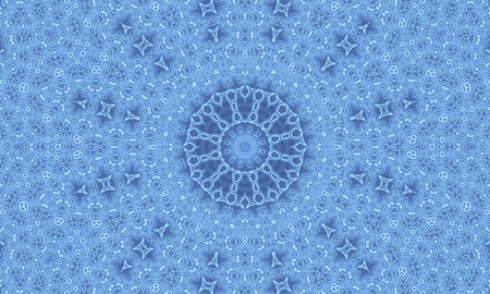 light shadow: Gradient blue background with abstract radial pattern Stock Photo