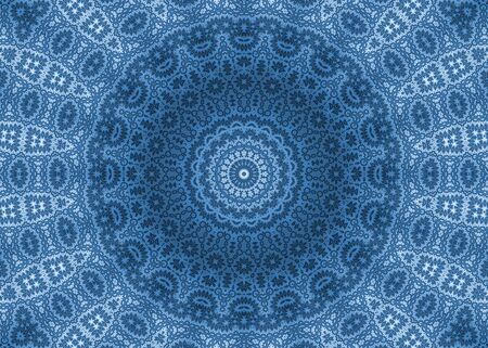 Blue abstract ornamental background photo