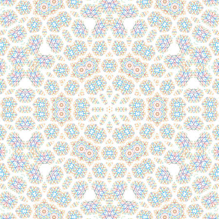 White background with abstract color pattern