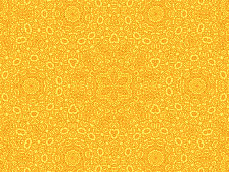 Bright yellow background with abstract radial pattern photo