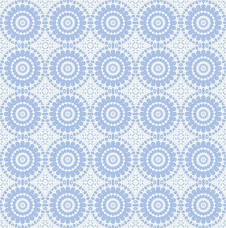 White background with abstract blue pattern Stock Photo