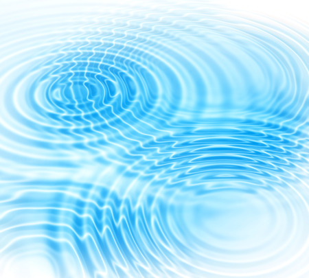 Abstract background with radial water ripples