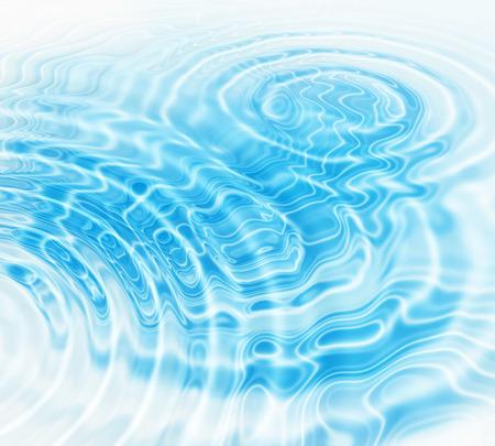 放射状の青い水の波紋と抽象的な背景 写真素材 - 28132489