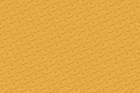 diamond plate: Background of yellow metal diamond plate