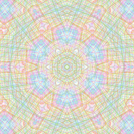 crossing tangle: Abstract background with color lines concentric pattern