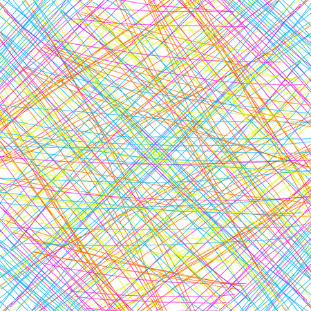 crossing tangle: Abstract background with color thin line