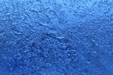 crystallization: Closeup of blue natural ice texture