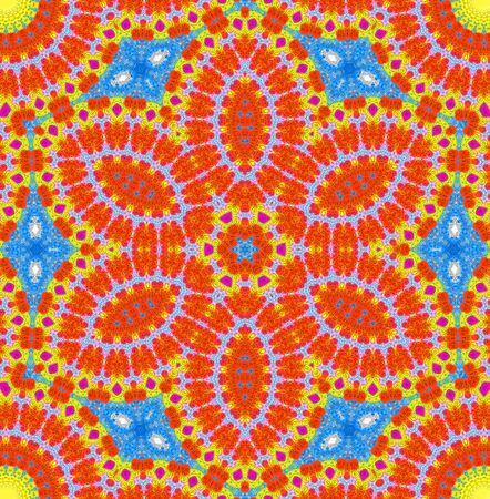 concentric: Abstract background with bright color concentric pattern