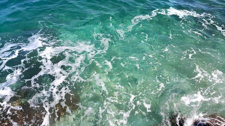 wavelet: Nature background of transparent sea water Stock Photo