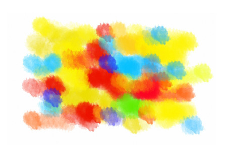 blots: Abstract color blots texture for design Stock Photo