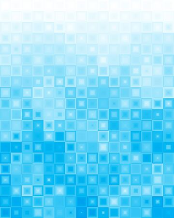 spot the difference: Abstract blue background of different squares