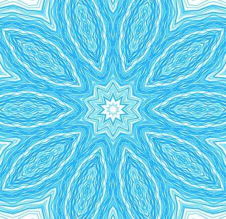 concentric: Abstract blue concentric pattern for design